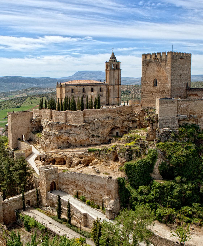 El giraldillo conjunto monumental de la fortaleza de la mota - Spa alcala la real ...