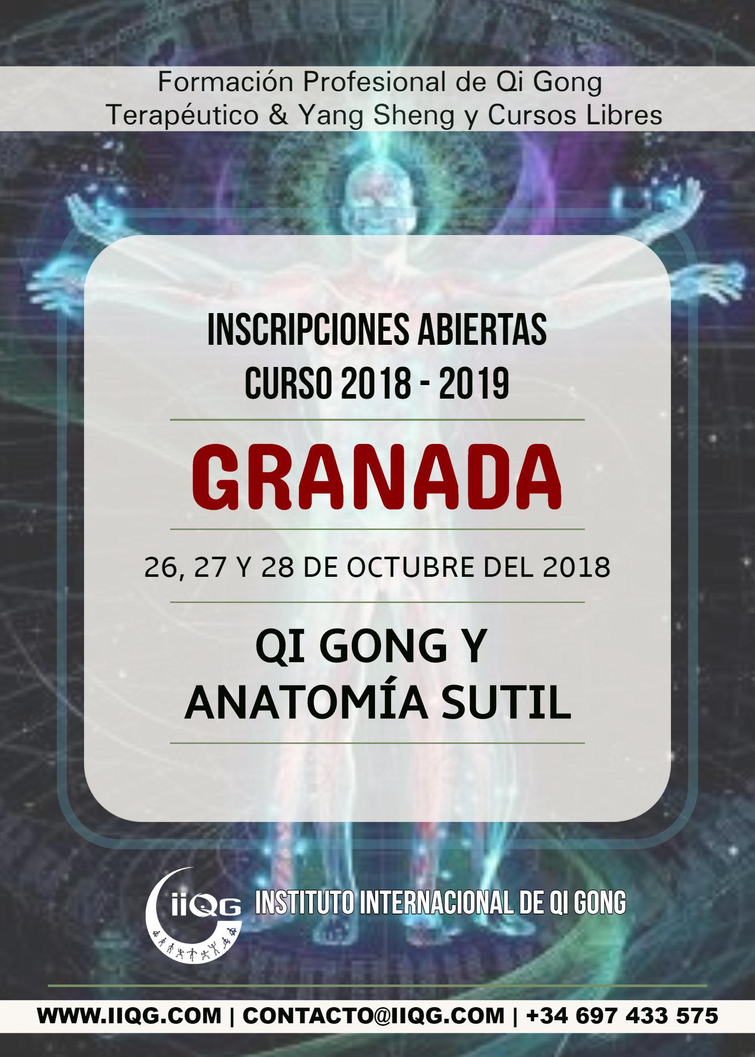 El Giraldillo - QI GONG Y ANATOMÍA SUTIL