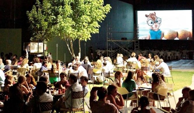 El Giraldillo Cine De Verano Parque Maria Luisa