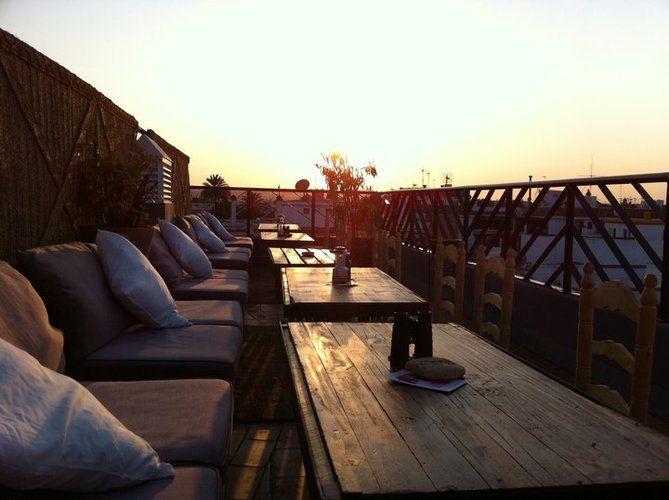 El giraldillo terraza roof hotel boutique casa romana for Kfc terrazas de mayo